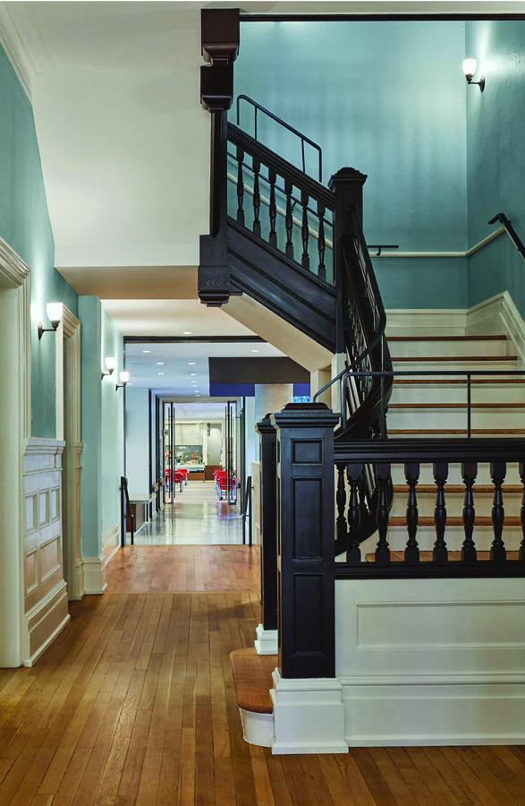 Interior photo of Casey House